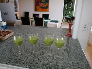 green smoothies to share