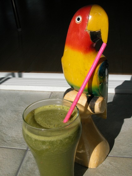 polly wanna green smoothie?