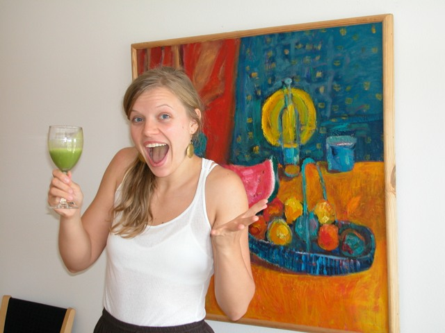 Ada Ketchie - green smoothie winner