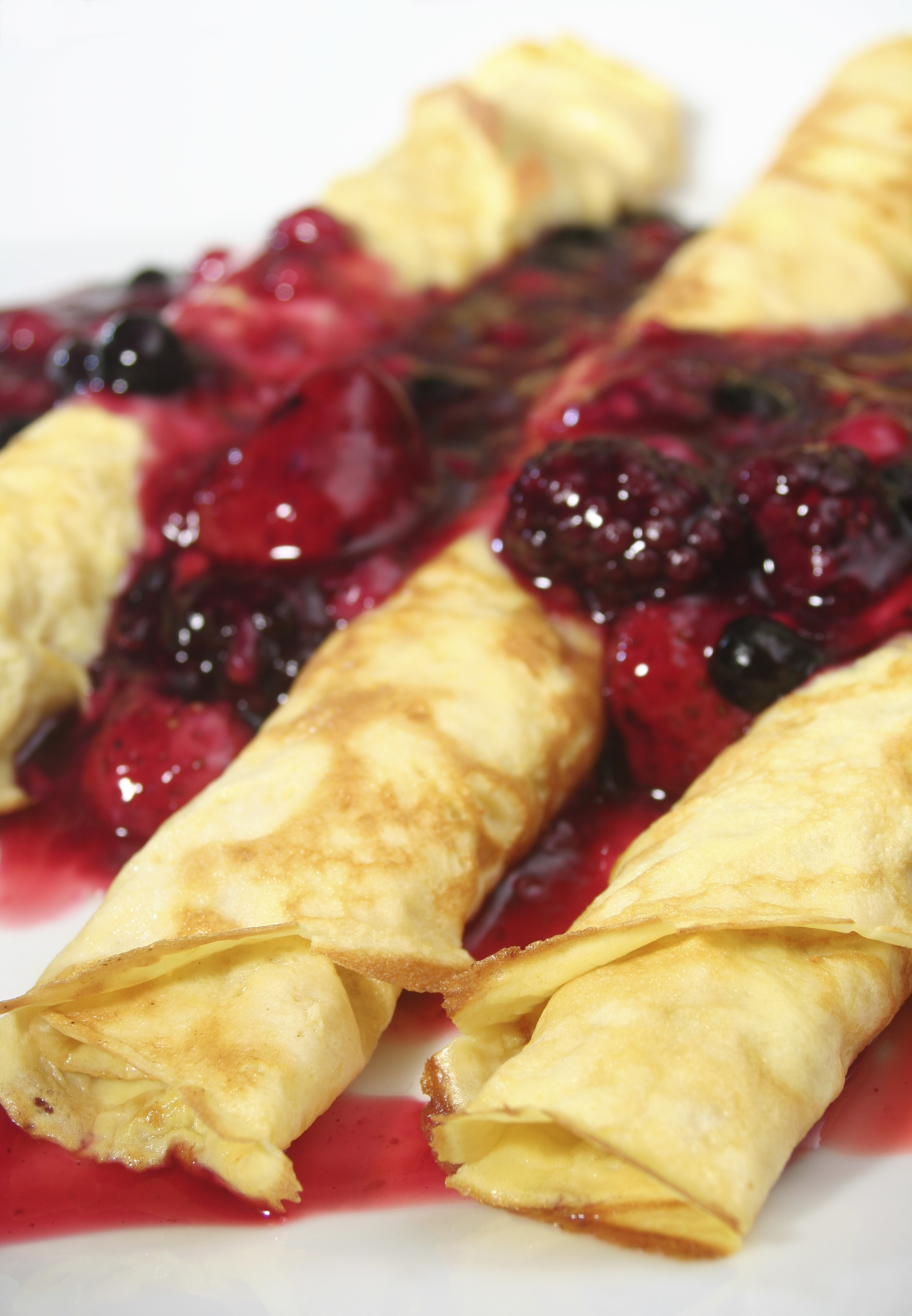Special Mother's Day Raw Food Recipe: Berry Crazy Crepes