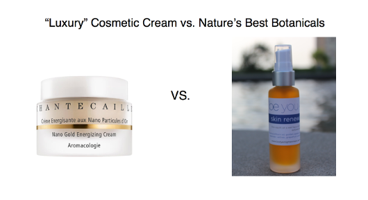 Dare to Compare: High End Luxury Facial Moisturizer with Be You Authentic Beauty Skin Renewal Solution